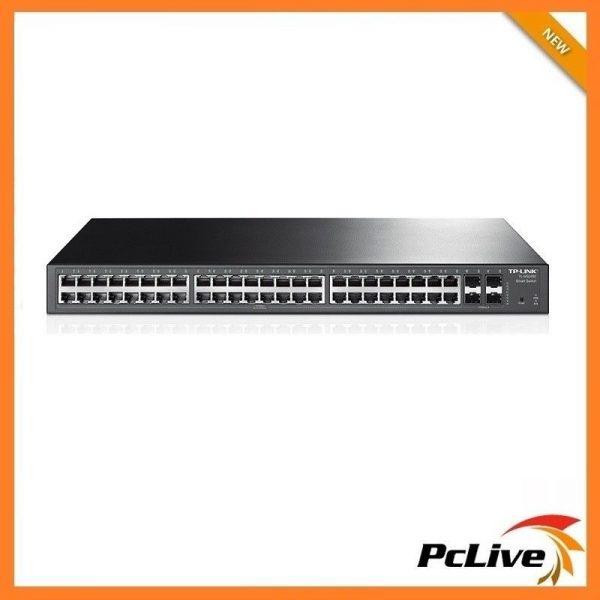 TP-Link TL-SG2452 48-Port Gigabit Smart Switch with 4 SFP Slots
