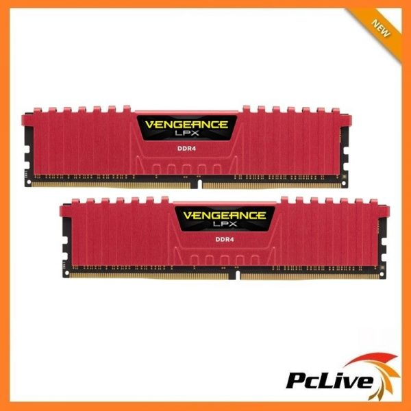 Corsair VENGEANCE LPX 16GB DDR4 2666Mhz Memory Gaming 2x8GB Desktop RAM  Heatsink